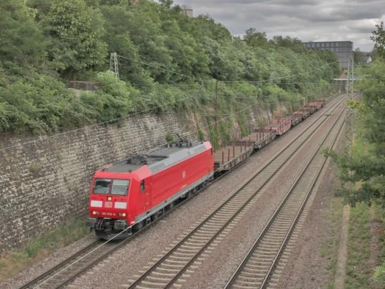 185 056-9 Saarbrücken Güterbahn