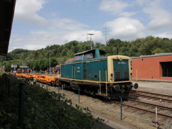 Railflex 212 039-2 im Eisenbahnmuseum Bochum-Dahlhausen