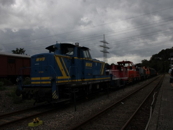 MWB V661 im Eisenbahnmuseum Bochum-Dahlhausen