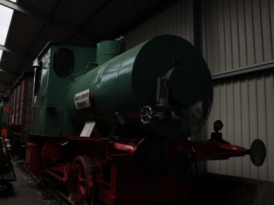 Dampspeicherlok der Süddeutschen Kabelwerke Mannheim im Eisenbahnmuseum Bochum-Dahlhausen