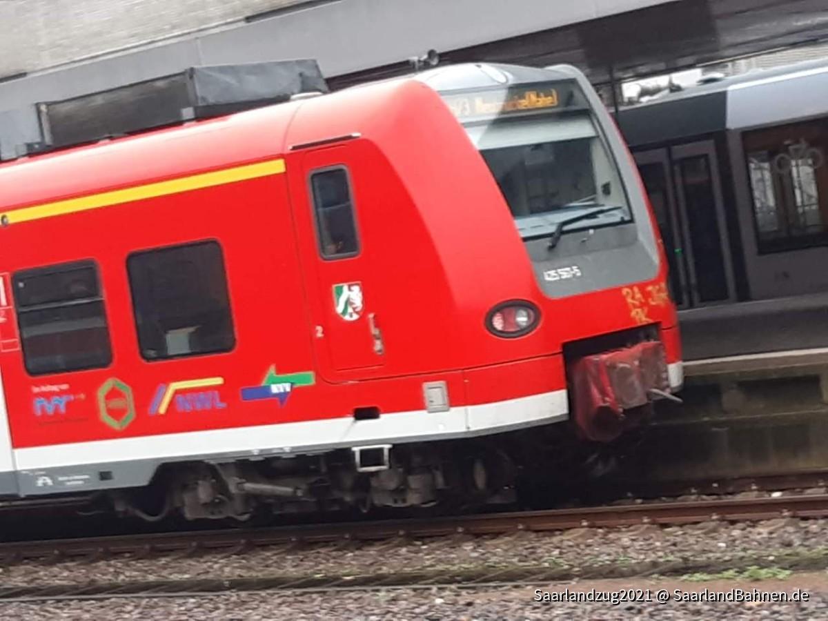 Saarbrücken hbf br425 plus NRW