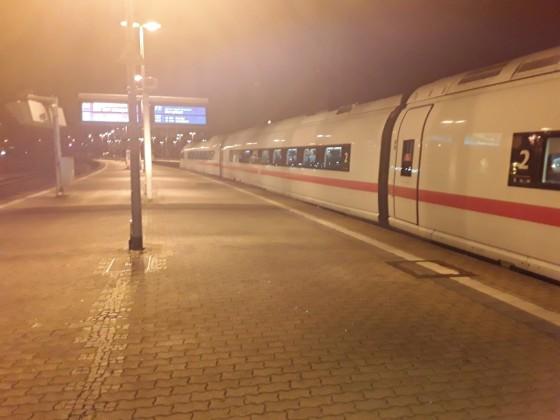 Ersatzzug ICE 2908