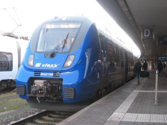 Vlexx auf DB Regio Linie