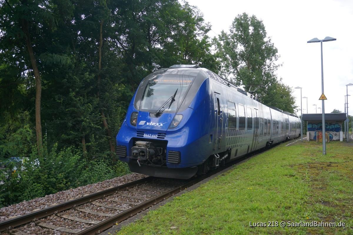 BR 8442 645 in Richtung St. Wendel