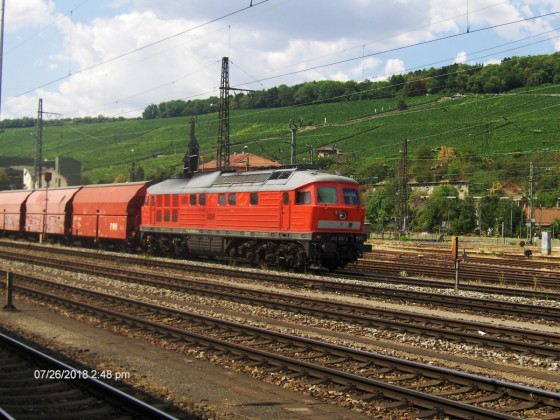 232 438 in Würzburg Hbf