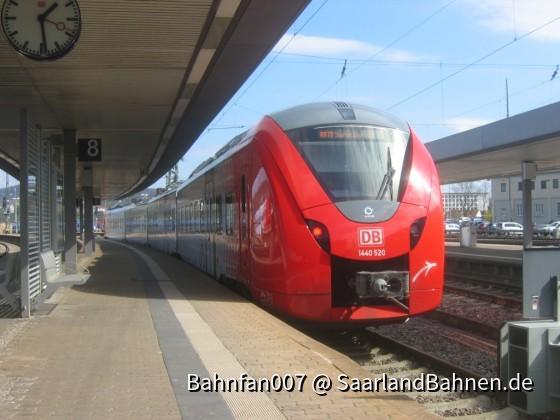 DB Regio für Vlexx auf der RB 73