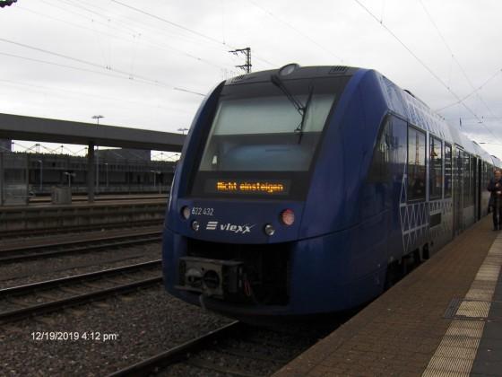 Vlexx 622 432 SSH Gleis 11
