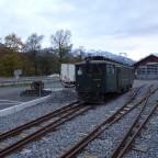 Bahnhof Alpnachstadt, Schweiz, Kanton Obwalden