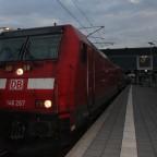 146 267 mit RB 86 in Lübeck Hbf